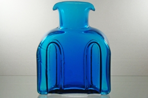 Non-Blenko Water Bottle-Turquoise