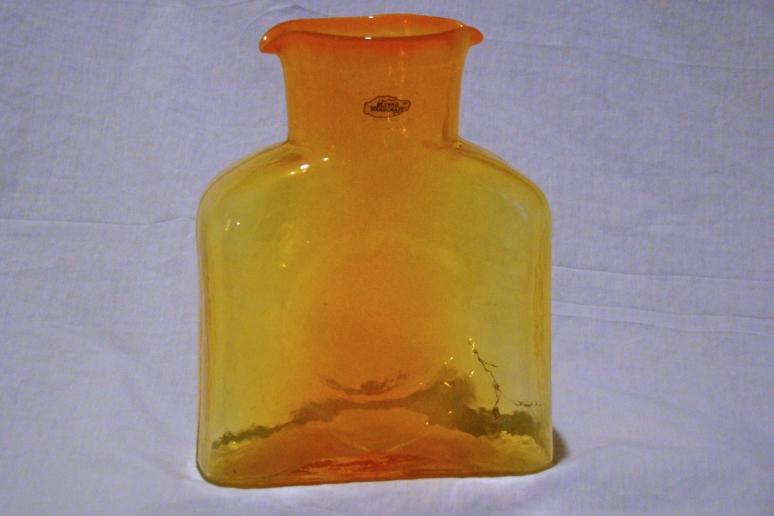 Blenko Water Bottle Dreamcicle