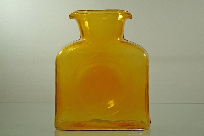 Blenko Water Botle Gold