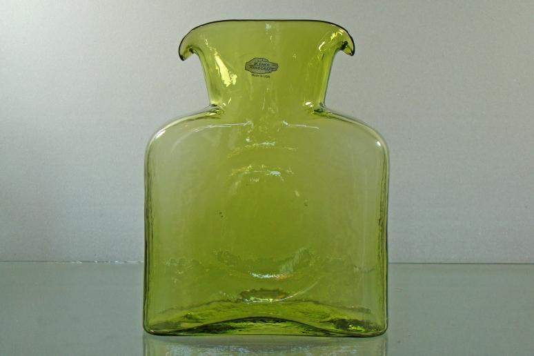 Blenko Water Bottle Cased Kiwi