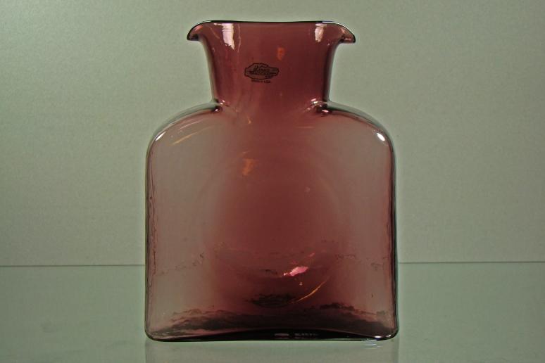 Blenko Water Bottle Orchid