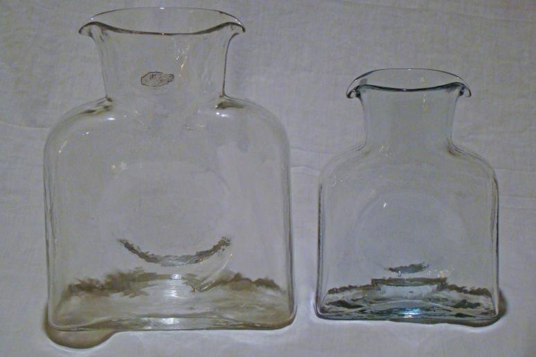 Blenko Mini Water Bottle pale blue