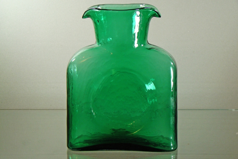 Blenko Water Bottle Seafoam