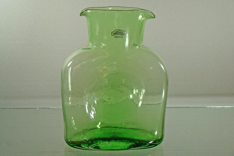Blenko Water Bottle Spring Green
