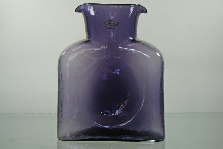 Blenko Water Bottle Violet