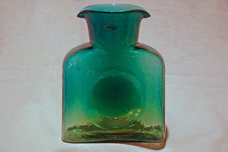 Blenko Water Bottle Desert Green